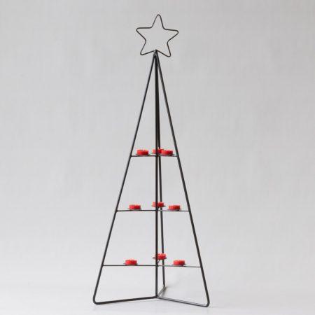 75757 Boom Metaal Triangulo Kerst