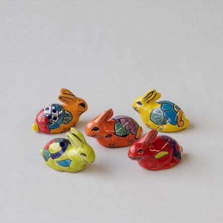 56800 konijn keramiek mini pasen cadeau